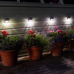 Smart Garden - 3 Lumen Fence, Wall & Post Light - 4 Pack