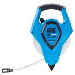 Ox - 50m Pro Open Reel Tape Measure