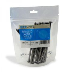 Site Mate Pre-Packed Round Wire Nails 500g