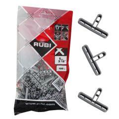 Rubi - 'T' Tile Spacers 5mm (100pcs)