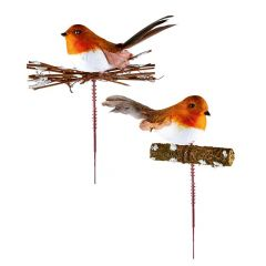 Premier - Robin On Stick - 2 Asst