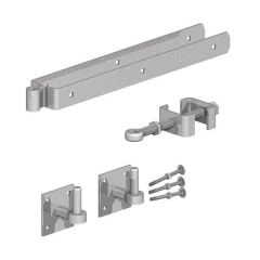 Gatemate - Field Gate Adjustable Double Strap With Hooks Hinge Set