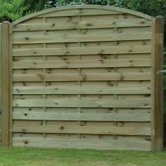 KDM 6' Arched Horizontal Fence Panel