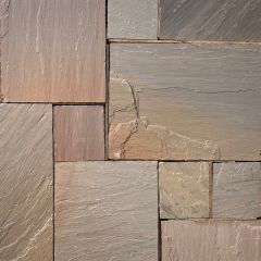 Earlstone - Autumn Blend Sandstone - Hand Cut