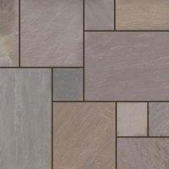 Earlstone - Autumn Brown Sandstone - Hand Cut