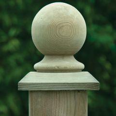 Ball & Collar Top Post Cap (Bronze)