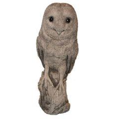 Dream Gardens - Barn Owl Stoneware Ornament