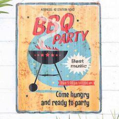 La Hacienda - 'BBQ Party'' Wall Sign
