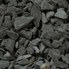 Black Slate Chippings - 20mm