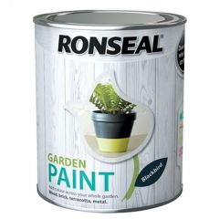 Ronseal Garden Paint - Black Bird