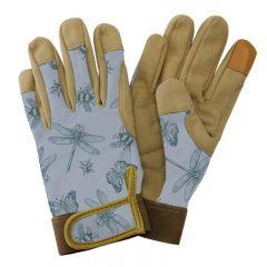 Kent & Stowe  - Blue Flutter Bugs Comfort Gloves