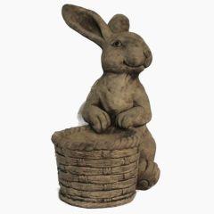 Dream Gardens - Bunny Planter Stoneware Ornament
