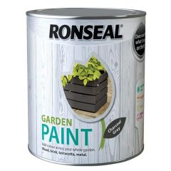 Ronseal Garden Paint - Charcoal Grey