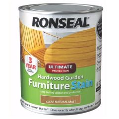 Ronseal - Hardwood Garden Furniture Stain 750ml