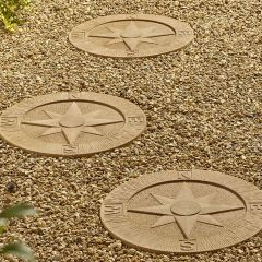 Compass Stepping Stone - York Gold