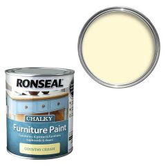 Ronseal - Chalky Furniture Paint - Country Cream
