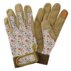 Kent & Stowe - Cream Meadow Flowers Comfort Gloves