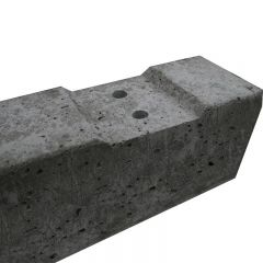 Concrete Recessed Post