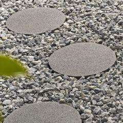 Kelkay - Borderstone Granite Stepping Stone - Dark Grey