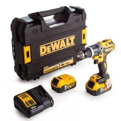 Dewalt - 18V XR Combi Drill (1 x 5.0Ah Battery) in TStak Case
