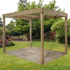 Forest - Dining Pergola Without Panels