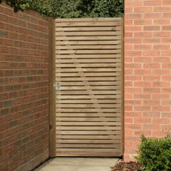 Forest - Double Slatted Gate