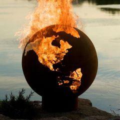 Lifestyle - Earth Globe Firepit