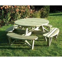 KDM - Elite Round Table & Bench Seat