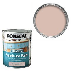 Ronseal - Chalky Furniture Paint - English Rose