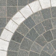 Digby Stone - Grigio Arco Bianco Cobblestone Porcelain