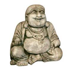Dream Gardens - Happy Buddha Stoneware Ornament