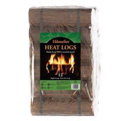 Homefire - Heat Logs (Pack of 12)