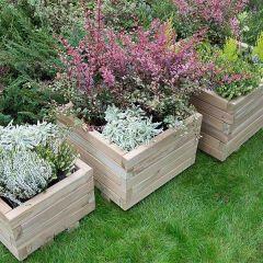 Forest - Kendal Square Planter - Set of 3