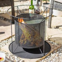 La Hacienda - Kora Perforated Firebasket