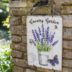 La Hacienda - 'Country Garden' Wall Sign
