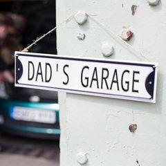 La Hacienda - 'Dad's Garage' Wall Sign