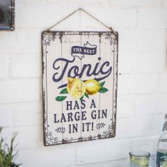 La Hacienda - 'The Best Tonic' Wall Sign