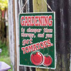 La Hacienda - 'Tomatoes' Wall Sign