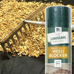 Kelkay - Heavy Duty Weed Blocker - 10m x 1m Roll