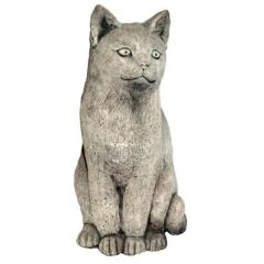 Dream Gardens - Large Cat Stoneware Ornament
