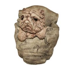 Dream Gardens - Large Dog & Bag Stoneware Ornament