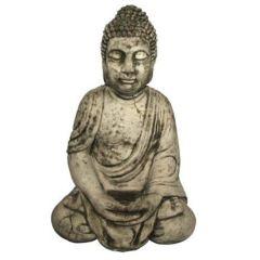 Dream Gardens - Large Robe Buddha Stoneware Ornament