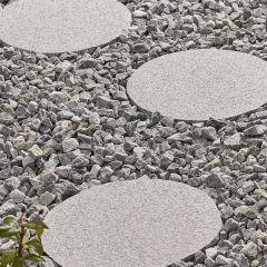 Kelkay - Borderstone Granite Stepping Stone - Light Grey