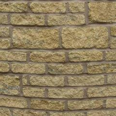 Pavestone - Burford Walling Brick Natural Light Weathered  - Tumbled