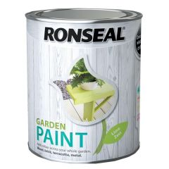 Ronseal Garden Paint - Lime Zest