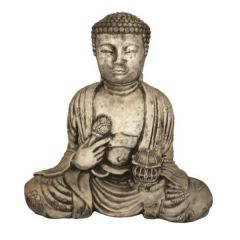 Dream Gardens - Lotus Buddha Stoneware Ornament