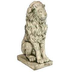 Dream Gardens - Medium Lion Stoneware Ornament