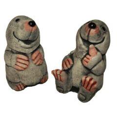 Dream Gardens - Medium Mole Stoneware Ornament