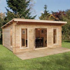 Forest - Mendip Log Cabin