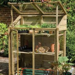 Forest - Mini Wooden Greenhouse